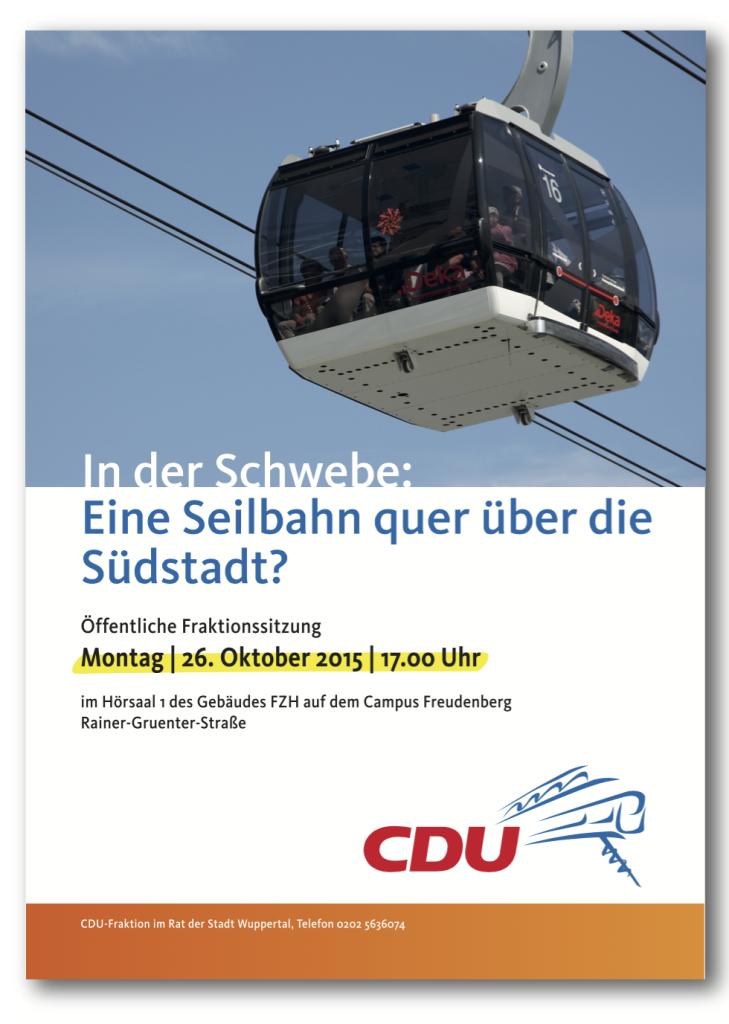 CDU_Seilbahn_Flyer