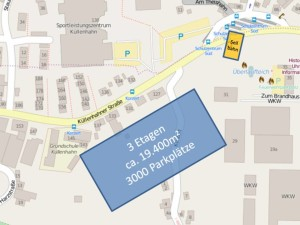 Flächenverbrauch: 3.000 Parkplätze auf 3 Etagen