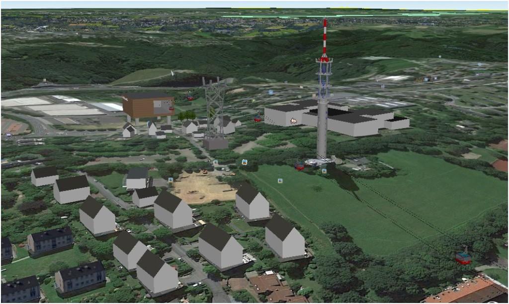 Die Bergstation Küllenhahn würde mit der Öffnung in nördlicher Richtung Geräuschbelastungen für die Anwohner im Bereich Lavaterweg, Jung-Stilling-Weg und am Wolfshahn bedeuten