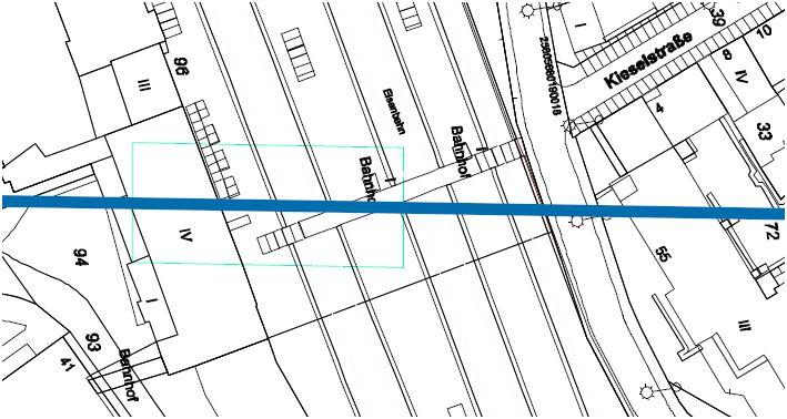 Lage der Talstation am Hauptbahnhof. Quelle: WSW mobil / Ingenieurbüro Schweiger