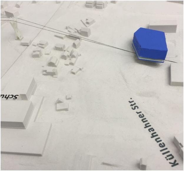 WSW-Modell der Bergstation