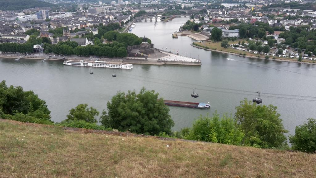 Seilbahn in Koblenz: Bei Gewitter kein Fahrbetrieb