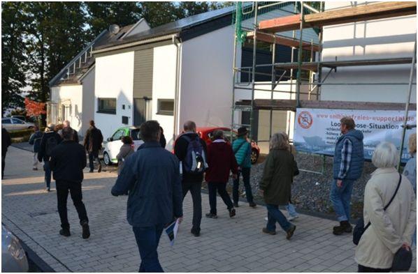 Trassenbegehung mit dem BUND (Bund für Umwelt und Naturschutz Deutschland) im Oktober 2015