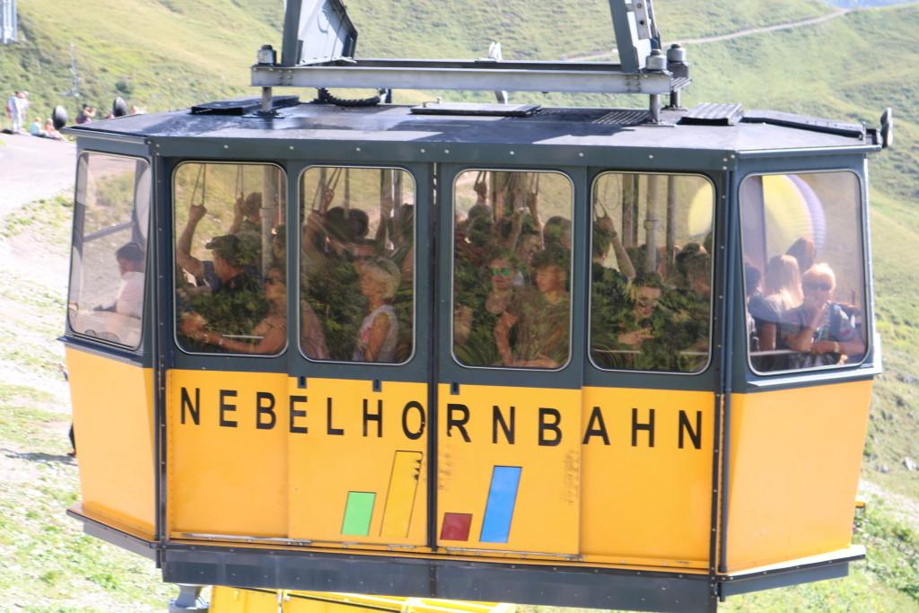 Nebelhornbahn bei Oberstdorf im Algäu