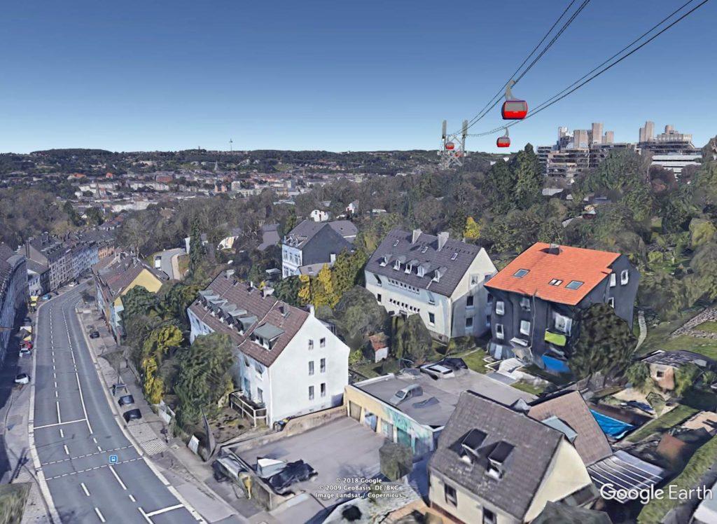Seilbahn-Pressebild Cronenberger Strasse