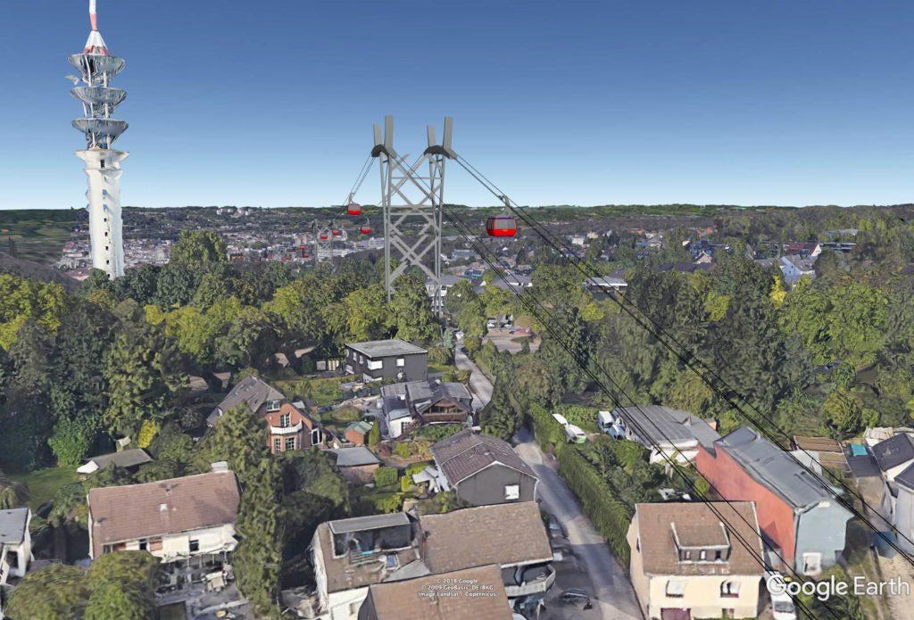 Seilbahn-Pressebild Wuppertal Küllenhahn